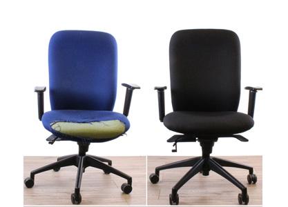 نوسازی صندلی های اداری