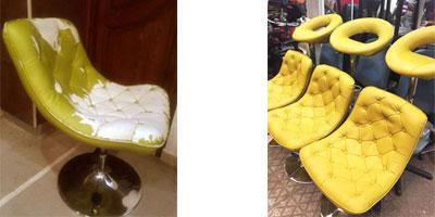 صرفه جویی در هزینه با تعمیر و بازسازی صندلی های اداری